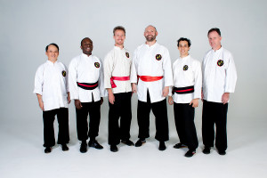 Shifu Kevin, Shi Xiong Richard, Shifu Jason, Shifu Peter, Shi Xiong Vincent, Shifu Richard