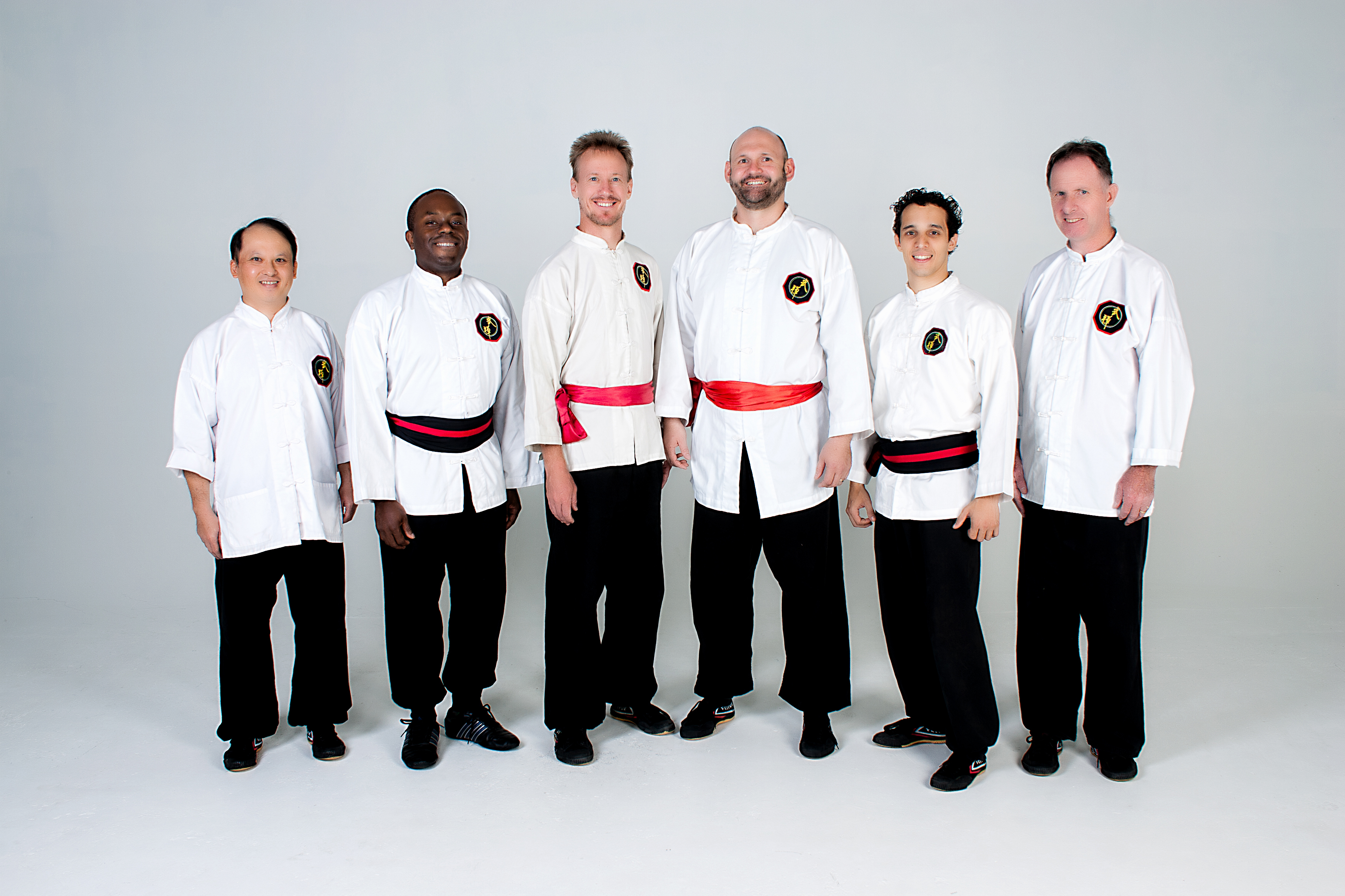 Shifu Kevin, Shi Xiong Richard, Shifu Jason, Shifu Peter, Shi Xiong Vincent, Shifu Richard