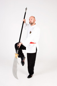 Shifu Peter has chosen Shaolin Long Fist kung fu as his specialist area, running his own classes and enjoying a variety of weapon and fitness training.