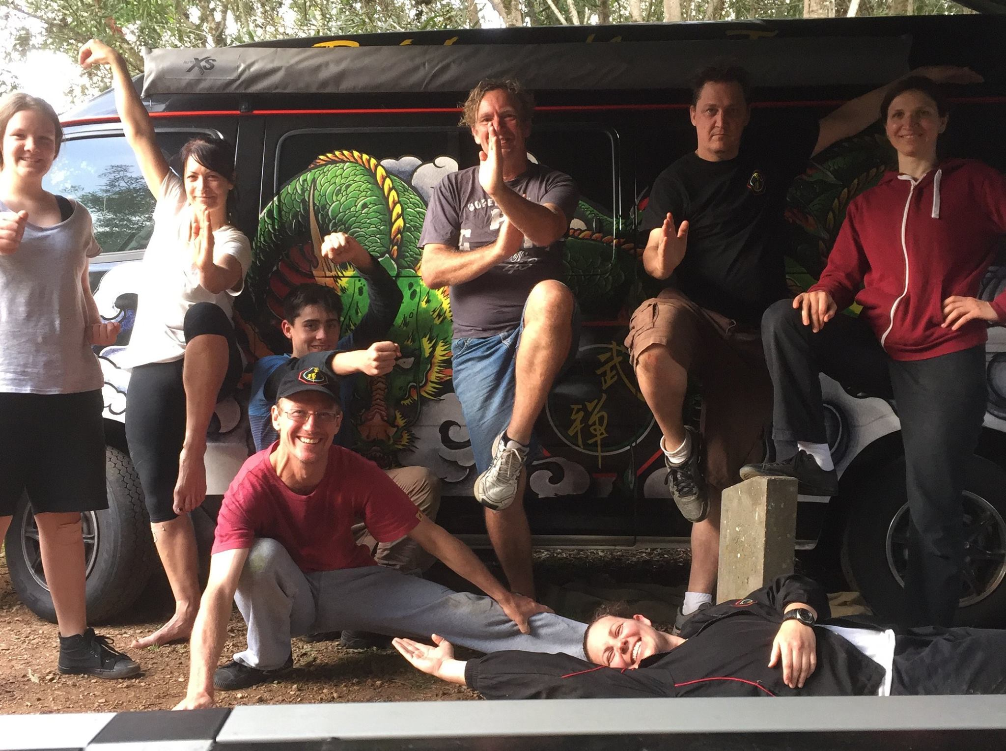 Brisbane Kungfu training camps